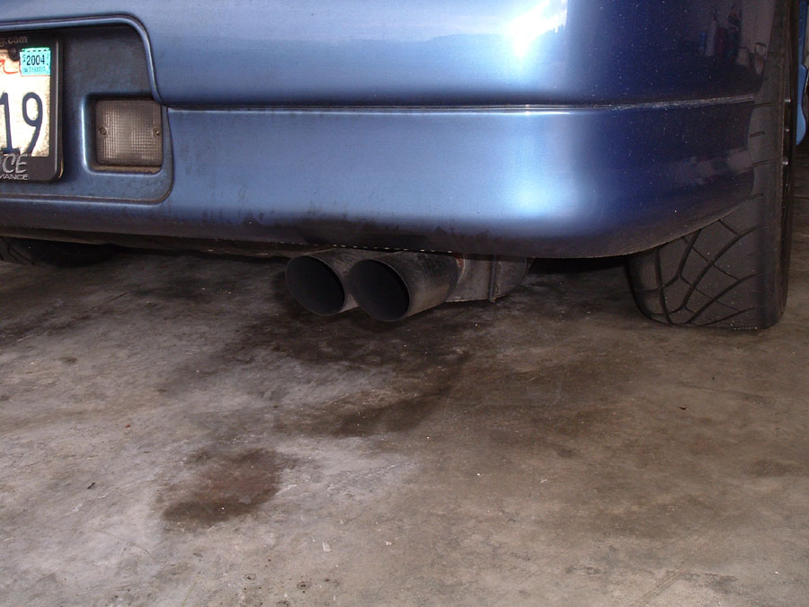 dual pea firing exhaust tip keeps the cops happy