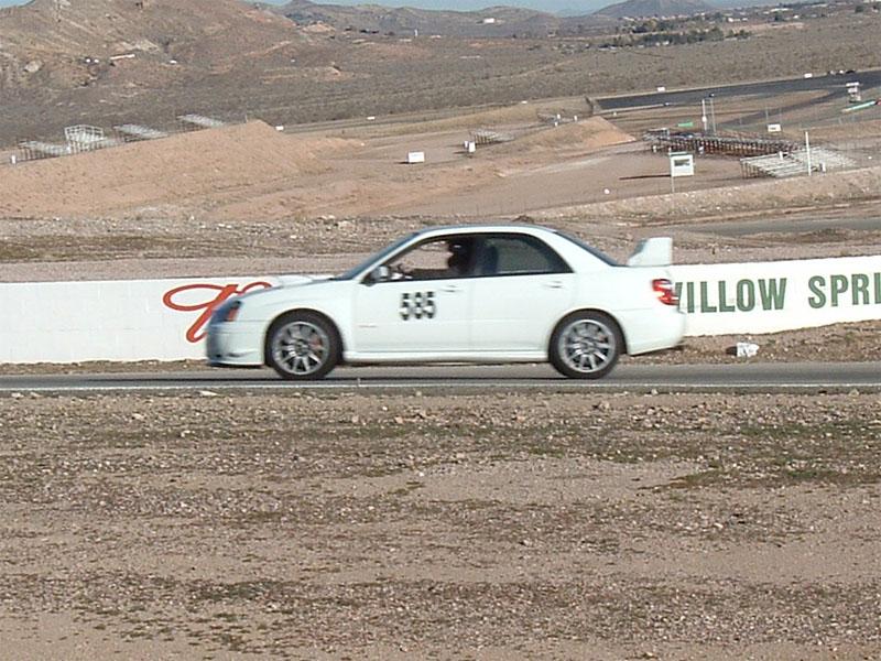 Willow Springs International Raceway 12-2004